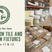 Save 25% on bathroom fixtures and tile!