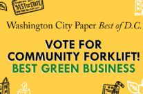 """You've nominated us for """"Best Green Business""""! Vote now and help us win!"""