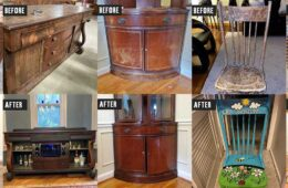 Before & After: Projects created with salvage from Community Forklift